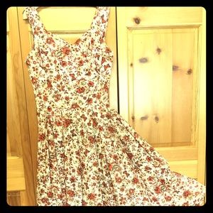 Other - Vintage Butterfly Dress